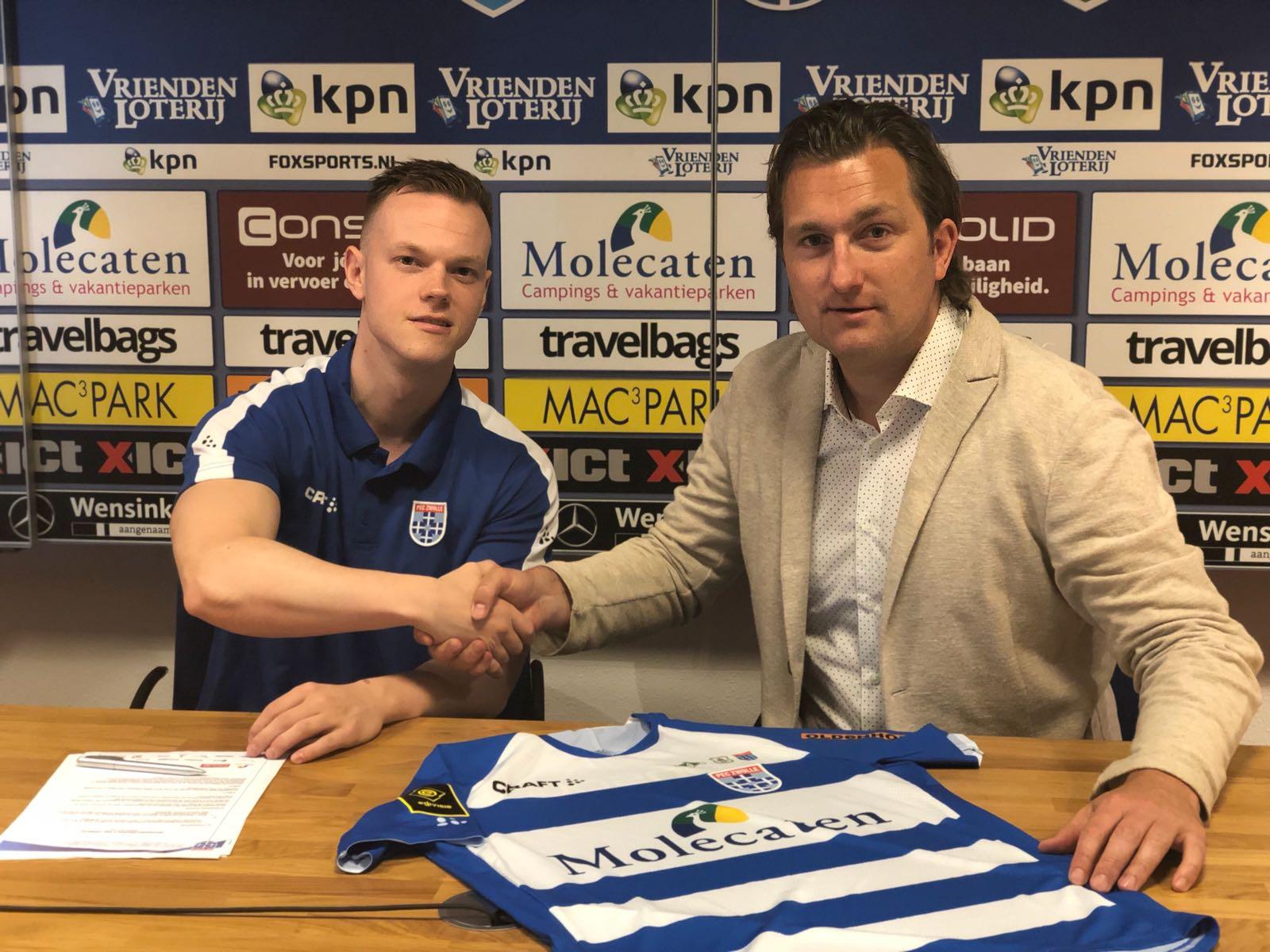 Tony Kok new Esporter of PEC Zwolle